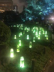 日比谷公園イベントハーバリウム